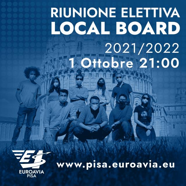 Riunione Elettiva Local Board 2021/2022